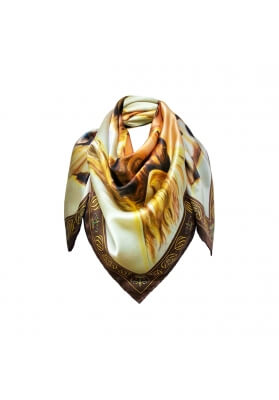 Spring / Summer SILK SCARF THE FIRST KISS 90X90