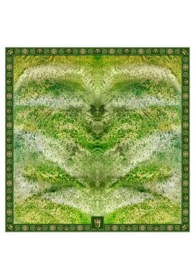 RHOMBUS CASCHMERE BLEND SHAWL 140 x 140