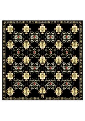 Sciarpe e Scialli FOULARD IN SETA/MISTO CASHMERE RUBY 90X90