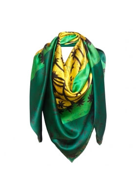 Spring / Summer SILK SHAWL PALM BEACH 140X140