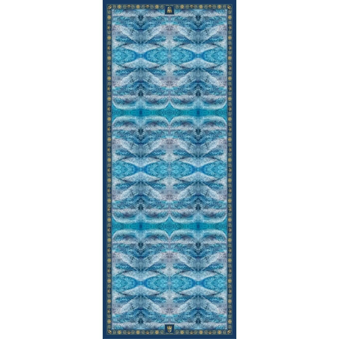 Autumn / Winter CASHMERE BLEND STOLES BLUE DEEP 90X230