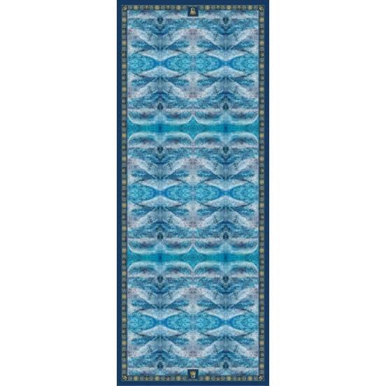 Spring / Summer SILK STOLES DEEP BLUE 90X230