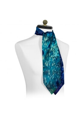 Ascot Ties FLUIDITY CASHMERE BLEND ASCOT TIE