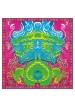 Sciarpe e Scialli FOULARD IN SETA/MISTO CASHMERE DRAGO 90X90
