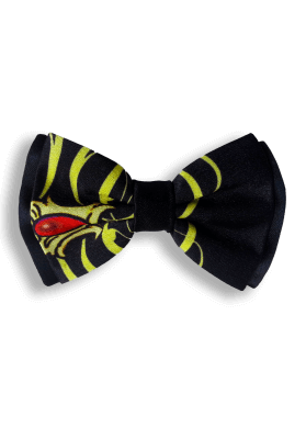 Bow Ties RUBY SILK BOW TIE
