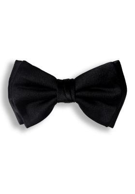Bow Ties BLACK CLASSIC SILK BOW TIE