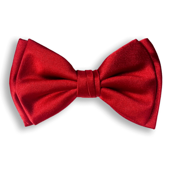 Bow Ties RED CLASSIC SILK BOW TIE