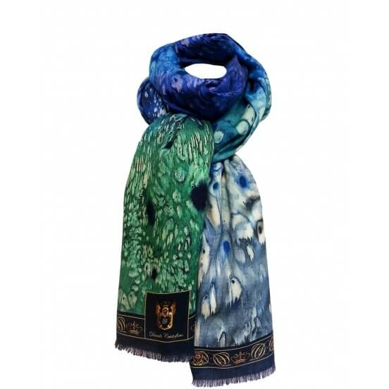 Autumn / Winter CASHMERE BLEND SCARF EARTH 70X200