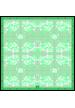 SILK SATIN STOLE RHOMBUS 90x230