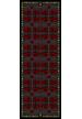 BRAND SILK SATIN STOLE 90x230