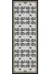 JUKE BOX CASHMERE BLEND SHAWLl 140 x 140