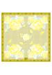 Spring / Summer SILK SCARF PASTEL ROSES 90X90