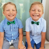 Fancy boys! 😍 Our collection of kids' bow ties is perfect for matching with their smart suits, ideal for when they need to look more presentable than ever! Discover more on: www.davidecristofaro.com  #davidecristofarofficial #etnochiccollection #promotion #fancyboys #childbowtie #kidsbowtie #art #fashion #design #madeinitaly #glamour #shopping #style #luxury #silk #colors #handmade #italy #sweden #newyork #hongkong #moscow #london #milan #apulia #fashionistas #accessories #luxurybrand